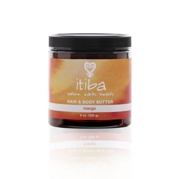 Itiba beauty's natural mango hair and body butter