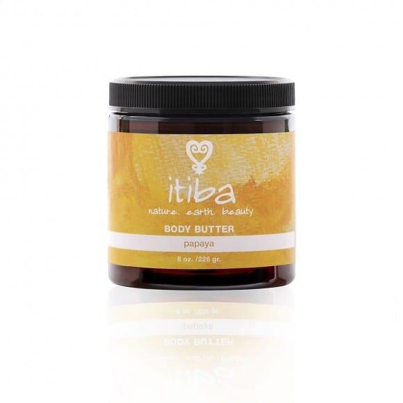 jar of itiba beauty natural papaya body butter