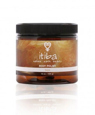 "Jar of ""kaya"" body polish for skin care with ancestral medicine"