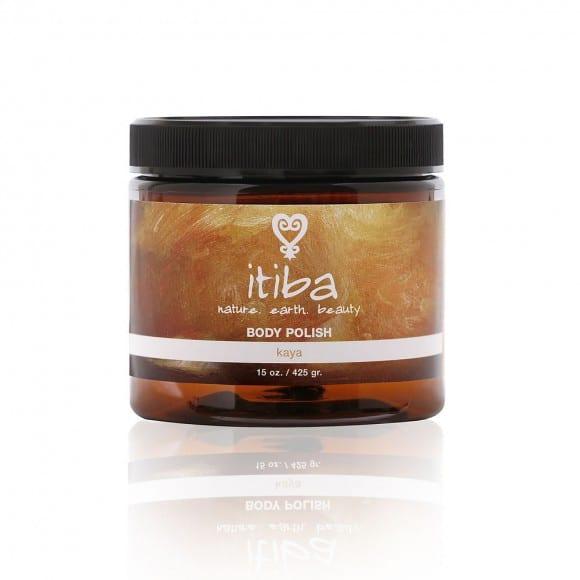 "Jar of ""kaya"" body polish for skin care with ancestral medicine"
