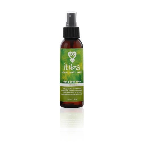 Itiba beauty natural carib lime hair and body serum