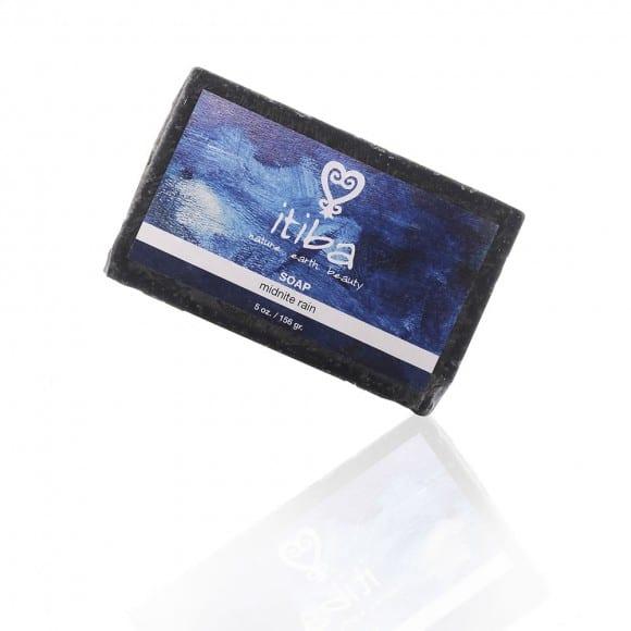 itiba midnight rain soap with essential oils