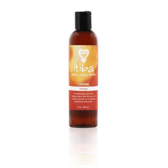 itiba mango lotion for natural skin care