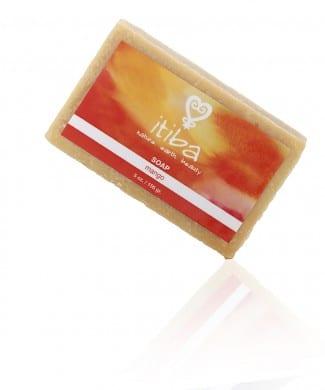Itiba beauty mango essential oil soap